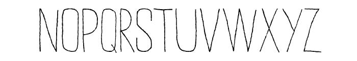 DKSucoDeLaranja Font LOWERCASE
