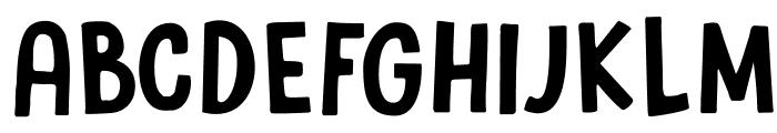 DKSugaryPancake Font UPPERCASE