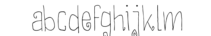 DKThievery Font LOWERCASE