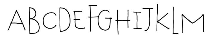 DKTobu Font UPPERCASE