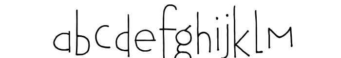 DKTobu Font LOWERCASE