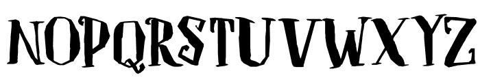 DKToverheks Font UPPERCASE