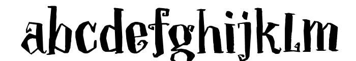 DKToverheks Font LOWERCASE
