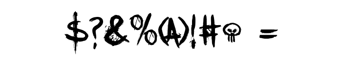 DKTrollslayer Font OTHER CHARS