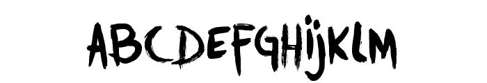 DKTrollslayer Font LOWERCASE