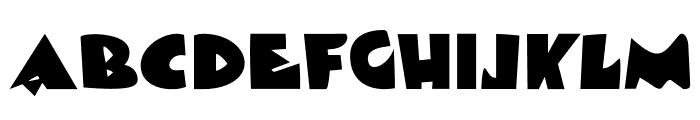 DKViareggio Font LOWERCASE