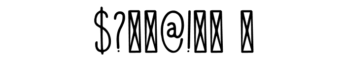 DKVisum Font OTHER CHARS