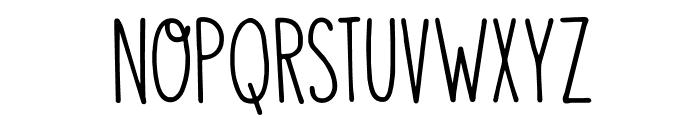 DKVisum Font LOWERCASE