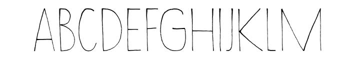 DKWayang Font LOWERCASE