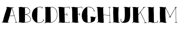DKZeebonk Font LOWERCASE