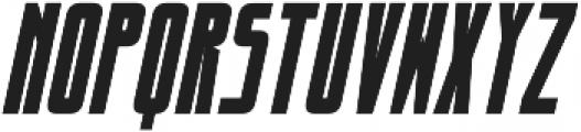 dlgmonospace Bold Italic otf (700) Font UPPERCASE