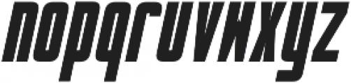 dlgmonospace Bold Italic otf (700) Font LOWERCASE
