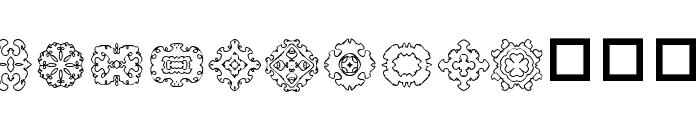 DLDesigns6 Font UPPERCASE