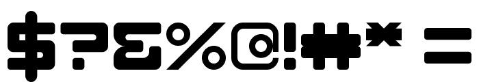 DLE Digital Regular Font OTHER CHARS