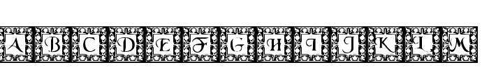 DLFillegreeCaps Font UPPERCASE