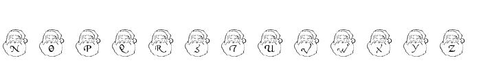 DLSantaCaps Font LOWERCASE