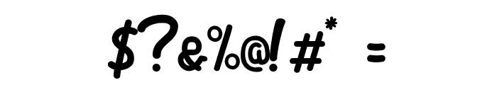 Dliya-Regular Font OTHER CHARS