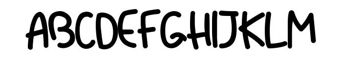 Dliya-Regular Font UPPERCASE