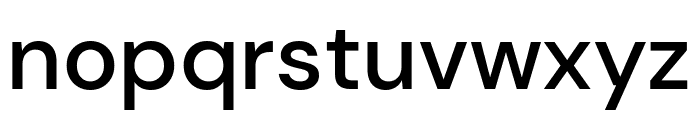 DM Sans Medium Font LOWERCASE