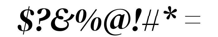 DM Serif Display Italic Font OTHER CHARS