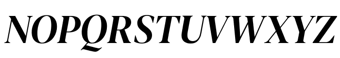 DM Serif Display Italic Font UPPERCASE