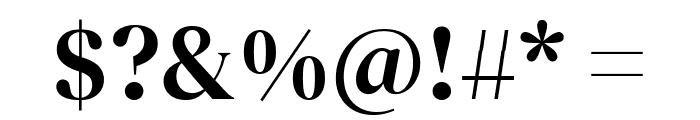 DM Serif Display Regular Font OTHER CHARS