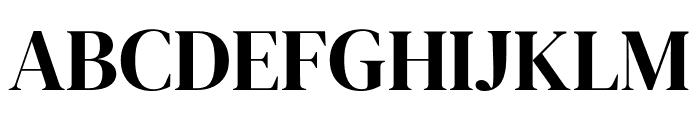 DM Serif Display Regular Font UPPERCASE