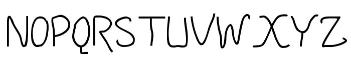 DMF Handatme Font UPPERCASE