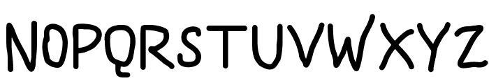 DMF Handwriter Font UPPERCASE