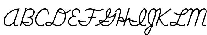 DmoDNConnect Font UPPERCASE