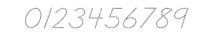 DmoDNConnectDot Font OTHER CHARS