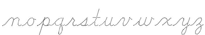 DmoDNConnectDot Font LOWERCASE