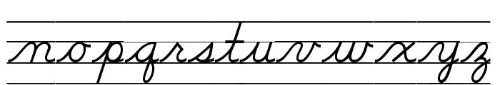 DmoDNConnectLineOT Font LOWERCASE