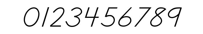 DmoDNCursive-Regular Font OTHER CHARS