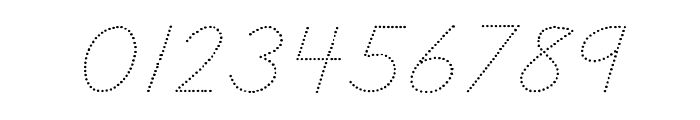 DmoDNCursiveDot Font OTHER CHARS