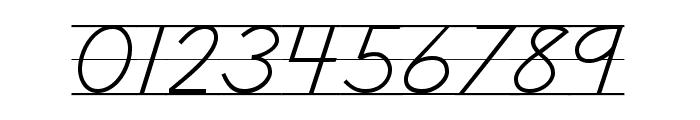 DmoDNCursiveLine Font OTHER CHARS