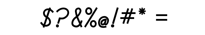 DmoDNPrint-Bold Font OTHER CHARS