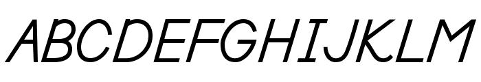DmoDNPrint-Bold Font UPPERCASE