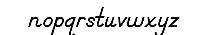 DmoDNPrint-Bold Font LOWERCASE