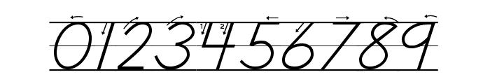 DmoDNPrintArrowLine Font OTHER CHARS