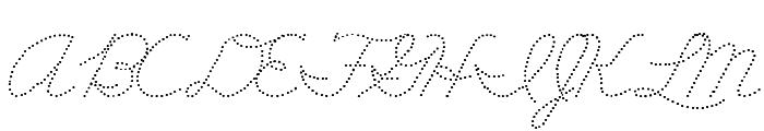 DmoZBConnectDot Font UPPERCASE