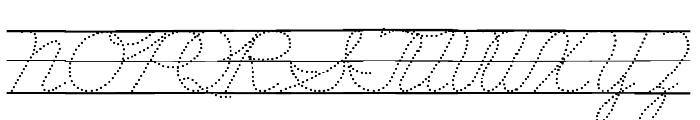 DmoZBConnectDotLine Font UPPERCASE