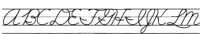 DmoZBConnectLine Font UPPERCASE