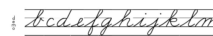 DmoZBConnectLine Font LOWERCASE