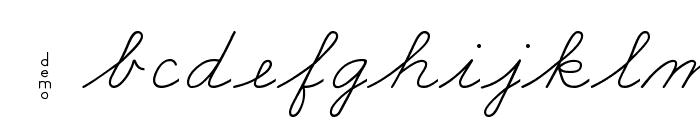 DmoZBConnect Font LOWERCASE