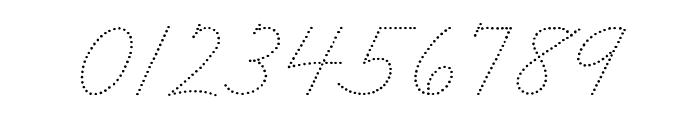 DmoZBCursiveDot Font OTHER CHARS