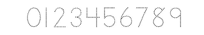 DmoZBPrintDot Font OTHER CHARS