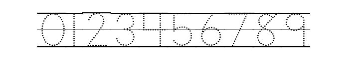 DmoZBPrintDotLine Font OTHER CHARS