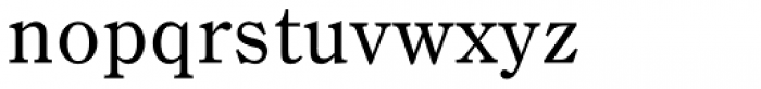 DMT Shuei Mincho Pr6 Medium Font LOWERCASE