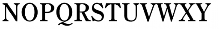 DMT Shuei YMincho Std Bold Font UPPERCASE